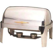 American Metalcraft GOLDAGRT26 - Adagio Chafer, 9 Qt., Rectangular, Stainless Steel W/Gold Handle