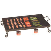 American Metalcraft GS27 - Griddle, 27 x 16 x 5, Includes Stand, Black Wrought Iron