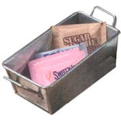 American Metalcraft GSP35 - Sugar Packet Holder, 5 x 3, Galvanized Silver