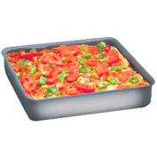 "American Metalcraft HCSQ1220 - Deep Dish Pan, Straight Sided, 12"" x 12"" x 2"" Deep, Hard Coat"