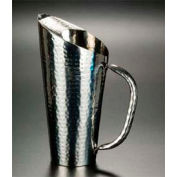 "American Metalcraft HMWP115 Water Pitcher, 68 Oz., 12""H, Hammered Finish"