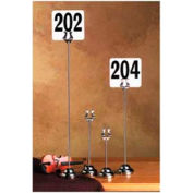 """American Metalcraft HPCH12 - Number Stand, 12"""""""