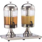American Metalcraft JUICE2 - Juice Dispenser, Double Style, (2) 8-1/2 Qt Dispensers