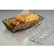 American Metalcraft LDLB2613 - Loop-D-Loop Basket, 13 x 6 x 2-3/4, Rectangular, Black