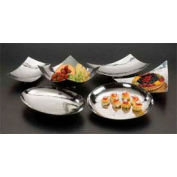 American Metalcraft MDR1710 - Platter, 17-1/4 x 10-3/8 x 3-1/2, Rectangle, Muddled Polished Finish