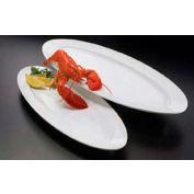 "American Metalcraft MEL50 - Endurance Boat Platter/Tray, 28"" L, White"