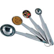 American Metalcraft MSSR74 - Measuring Spoons, 1 Tbl., 1 Tsp., 1/2 Tsp., 1/4 Tsp.