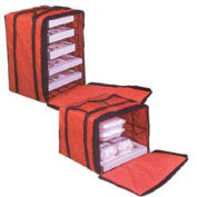 """American Metalcraft PB1914 - Deluxe Pizza Delivery Bag W/Rack, 19"""" x 19"""" x 14"""""""