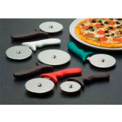 """American Metalcraft PIZR2 - Pizza Cutter, 4"""" Wheel, Stainless Steel Wheel, Plastic Red Handle"""