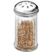 American Metalcraft SAN317 - Spice Shaker, 12 Oz., San Plastic W/ Stainless Steel Top