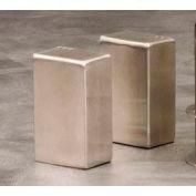 "American Metalcraft SP4 - Salt & Pepper Shaker Set, 2-1/2""H, Rectangle"