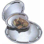 American Metalcraft STOV96 - Affordable Elegance Serving Tray, Oval, 6-3/4 x 9-1/2, Embossed