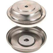 """American Metalcraft TB60 - Pellet Base, For Use With Plates 8-11/16"""" To 9-3/4"""", Double Walled"""