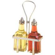 American Metalcraft VBR1 - Oil/Vinegar Rack, Chrome, Holds Vwb26