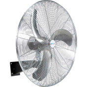 "Airmaster Fan 24"" Ultra High Velocity Air Flow Wall Mount Fan 20770K 1 HP 7700 CFM"