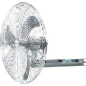 "Airmaster Fan 20"" I-Beam Mount Oscillating Fan 20909 1/5 HP 3100 CFM"