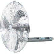 Airmaster Fan UP24IN-S 24 Inch  I-Beam  Fan 1/3 HP 5588 CFM , Oscillating