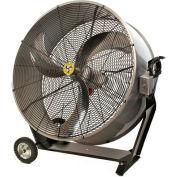 """Airmaster Fan 36"""" Washdown Barrel Fan - 9800 CFM"""