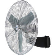 Airmaster Fan I-24-OIW 24 Inch  Wall  Fan 1/3 HP 5500 CFM , Oscillating