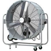 "Airmaster 48"" Belt Drive Mobile Drum Fan, 1 Speed, 17730 CFM, 1 HP"