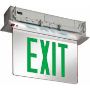 Lithonia Lighting EDGR 1 G EL M4 - LED Edge-Lit Exit Sign Green