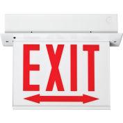 Lithonia Lighting EDGR 2 RMR EL M4 - LED Edge-Lit Exit Sign Red