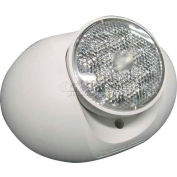 Lithonia ELA Q L0304 M12 LED Emergency Light Remote Head, White, Single, 1.5w, 3.6 Volt LED Lamps