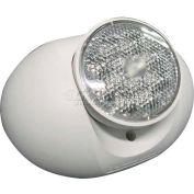 Lithonia ELA Q L0304 M12 LED Emergency Light Remote Head, White, Single, 1.5w, 3.6 Volt LED Lamps