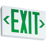Lithonia EXG LED M6 Contractor Select Green Exit