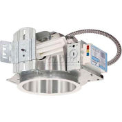 "Lithonia LF6N 2/26DTT MV ELR 6"" Recessed Housing For Compact Fluor. Horizontal 2-Lamp w/ Battery"