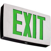 Lithonia LQC 1 G EL N Quantum Green Exit w/ Battery