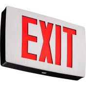 Lithonia LQC 1 R EL N Quantum Red Exit w/ Battery