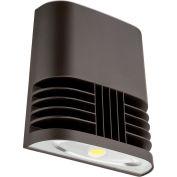 Lithonia Lighting OLWX1 LED 20W 40K M4, LED Wall Pack, 20W 4000 CCT, Bronze