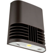 Lithonia Lighting OLWX1 LED 20W 50K M4, LED Wall Pack, 20W 5000 CCT, Bronze