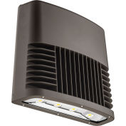 Lithonia Lighting OLWX2 LED 90W 50K DDB M2, LED Wall Pack, 90W 5000 CCT, Bronze