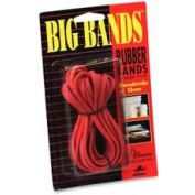 "Alliance® Big Bands™ Rubber Bands, 7"" x 1/8"", Red, 12/Pack"
