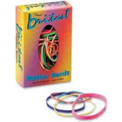 Alliance® Brites® Pic Pac Rubber Bands, Assorted Sizes/Pastel Colors, 1.5 oz. Box