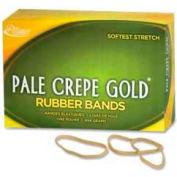 "Alliance® Pale Crepe Gold® Rubber Bands, Size # 32, 3""x 1/8"", Natural, 1 lb. Box"