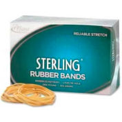 "Alliance® Sterling® Rubber Bands, Size # 19, 3-1/2"" x 1/16"", Natural, 1 lb. Box"