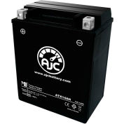 AJC Battery Polaris Indy Starlite GT 244CC Snowmobile Battery (1994), 14 Amps, 12V, B Terminals