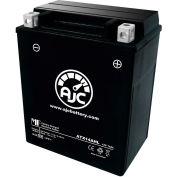 AJC Battery Aprilia Wind 350CC Motorcycle Battery (1988), 14 Amps, 12V, B Terminals