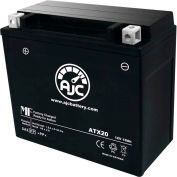 AJC Battery Arctic Cat 570 Bearcat Snowmobile Battery (2008-2014), 18 Amps, 12V, B Terminals