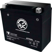 AJC Battery Indian VTX1800C 1800CC Motorcycle Battery (2002-2011), 18 Amps, 12V, B Terminals
