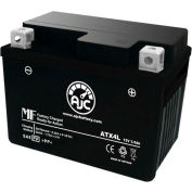 AJC Battery Suzuki DR250S 250CC Motorcycle Battery (1990-1992), 3.5 Amps, 12V, B Terminals