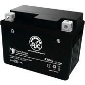 AJC Battery Gilera GSA E-Starter 50CC Motorcycle Battery, 3.5 Amps, 12V, B Terminals