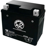 AJC Battery KTM XC ATV 505CC ATV Battery (2008-2009), 4.5 Amps, 12V, B Terminals