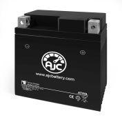 AJC® Yamaha YFM250Raptor 250CC ATV Replacement Battery 2008-2013