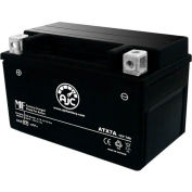 AJC Battery Kymco Super 8 50CC Scooter Battery (2009-2016), 7 Amps, 12V, B Terminals