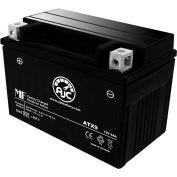AJC Battery Honda NT650V SLR650 Vigor 650 Motorcycle Battery, 8 Amps, 12V, B Terminals