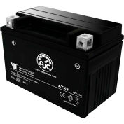AJC Battery Kymco Venox250 Motorcycle Battery (2009-2010), 8 Amps, 12V, B Terminals